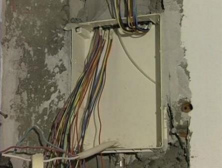 установка квартирного электрощитка
