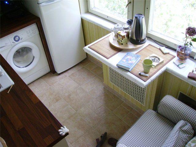 планировка маленькой кухни фото5