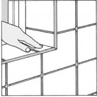 облицовка плиткой в углах