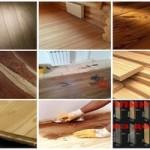 Древесина для деревянных напольных покрытий