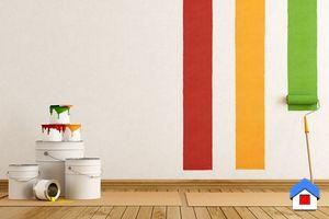 выбор краски для интерьера