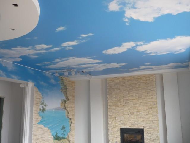 натяжной потолок пвх