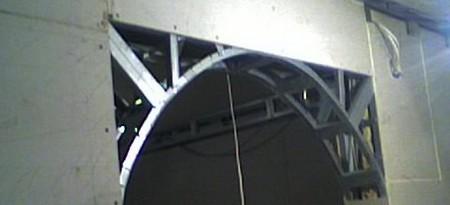 Как сделать каркас для арки из гипсокартона