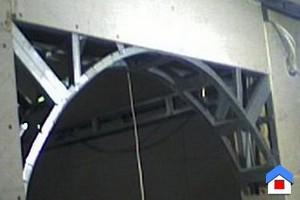 арка вместо двери монтаж
