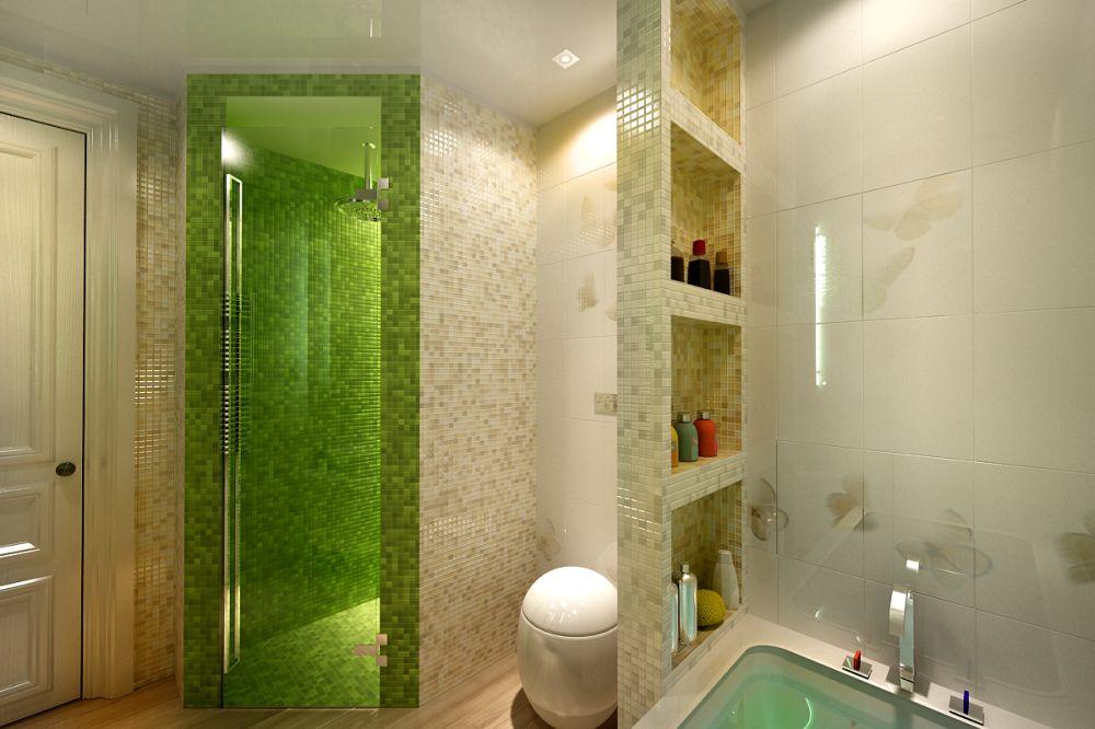 Красивый ремонт своими руками в ванной