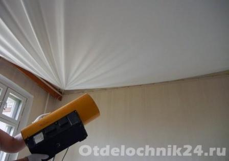 натяжной потолок монтаж-1