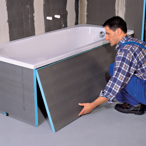Установка декоративной панели на ванну своими руками