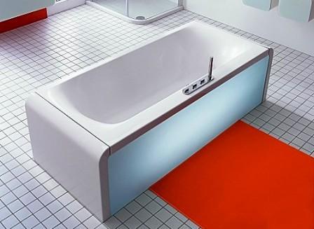 Нестандартный экран для ванны
