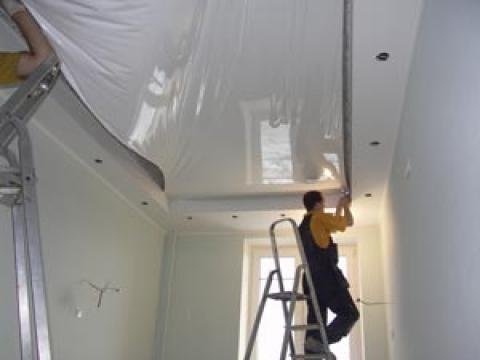 ремонт и отделка кухни - потолок натяжной