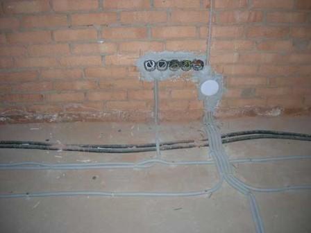 разделение электропроводки на группы
