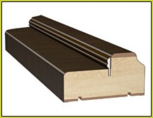 Дверная коробка с уплотнителем
