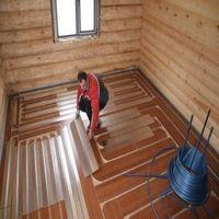Деревянная система водяной теплый пол