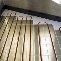 Полистирольная система водяной теплый пол