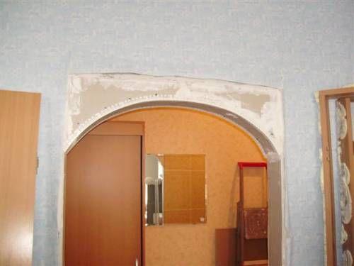 Межкомнатные арки пошагово
