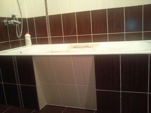 экран под ванну из ПГП