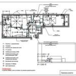 Электропроект квартиры 78 метров в PDF