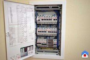 монтаж квартирного электрощитка согласно пуэ