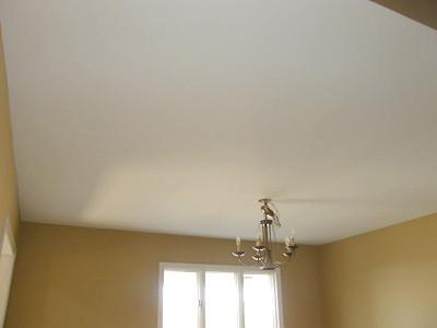 Ремонт потолка побелкой