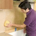 Укладка фартука на кухне
