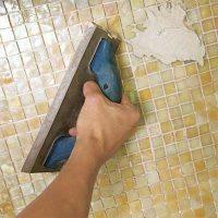 фотогалерея укладка мозаики на кухне