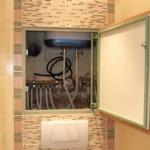 Сантехнический шкаф: способы устройства люка сантехнического шкафа
