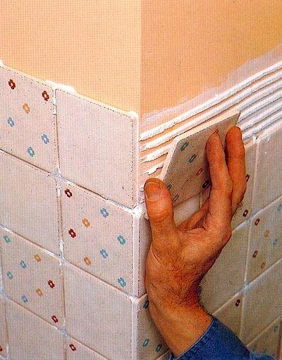Как сделать стены из кафеля
