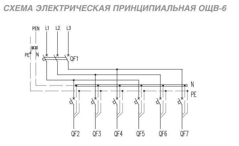 для автоматов защиты)