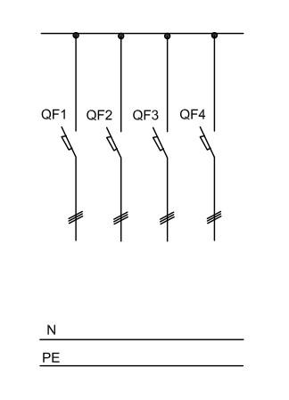 21. Электрическая принципиальная схема ...