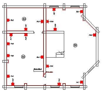 Схема розетки квартиры