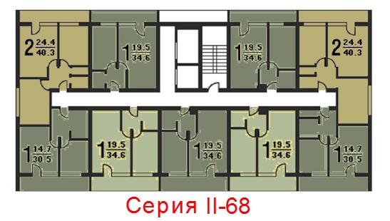 Схема_Серия домов II-68-01