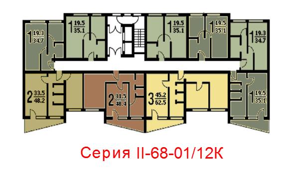 Схема_Серия домов II-68-01_12К