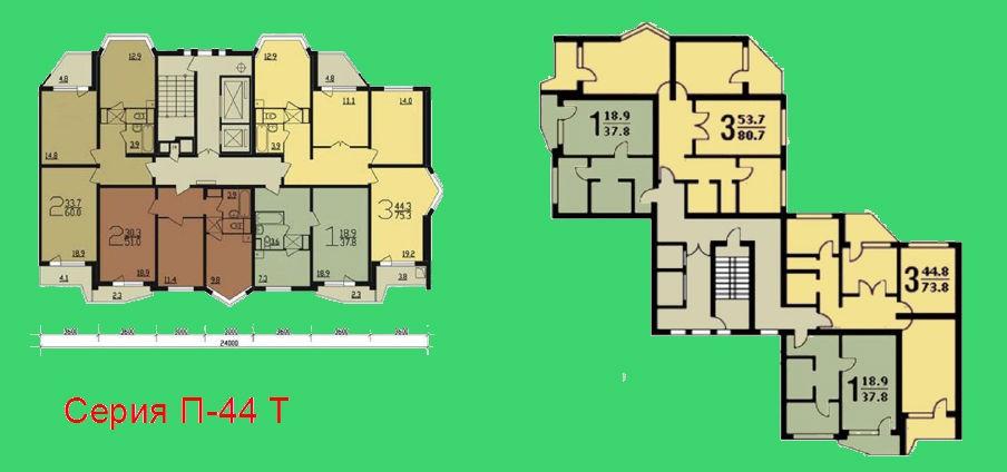 знакомы дома серии П-44 Т