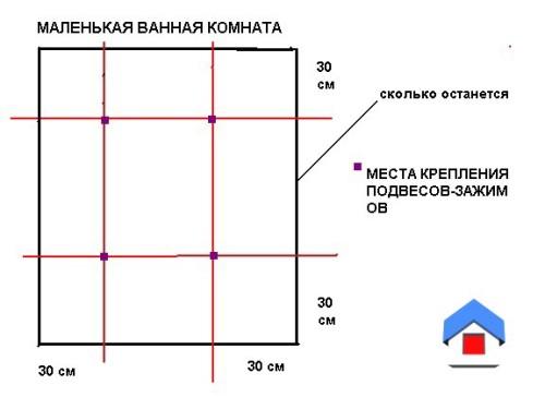 разметка-реечного-потолка-фото1
