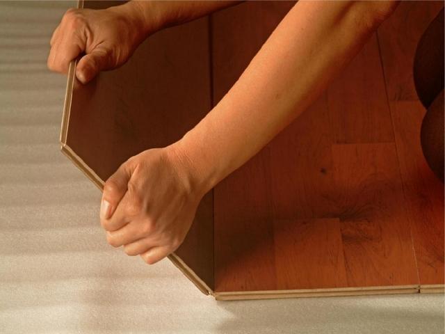 Выбор покрытия на пол -ламинат