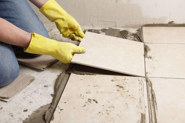 Выбор покрытия на пол -Керамическая плитка