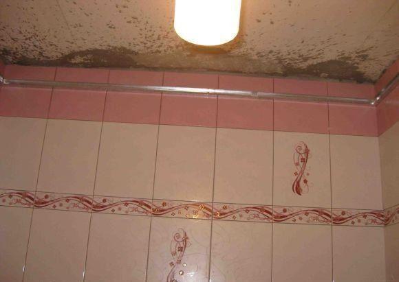 Ремонт потолка ванной комнате своими руками