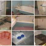 Фото ремонта ванной комнаты и санузла