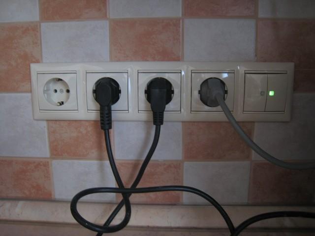 электрика на кухне