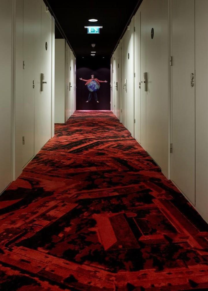 Дизайнерский замысел коридора