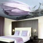 Натяжные потолки в различных стилях интерьера