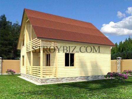 В чём преимущества домов из дерева