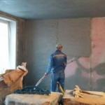 Преимущества механизированной штукатурки стен