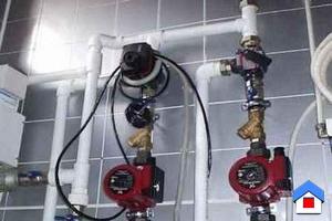 Подключение и расчет циркуляционного насоса отопления