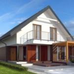 Проекты дачных домов с мансардой – необычные идеи