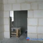 Дверной проем в перегородке ПГП: способы сделать проем в перегородке из гипсовых плит