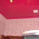 Натяжной потолок в ванной: как правильно выбрать тип натяжного потолка для ванной