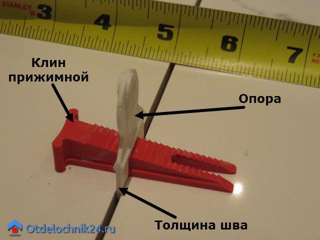 системы выравнивания плитки