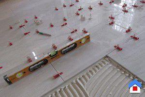 системы укладки и выравнивания плитки