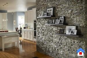 декорирования стены отделочным камнем