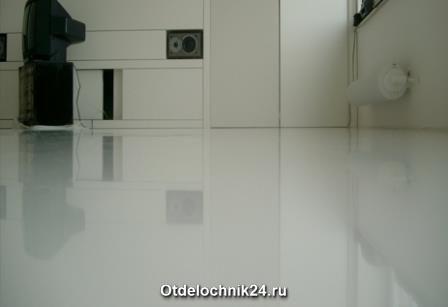 Полимерные полы в квартире